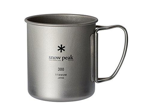 スノーピーク(snow peak) チタンシングルマグ 300 [容量300...