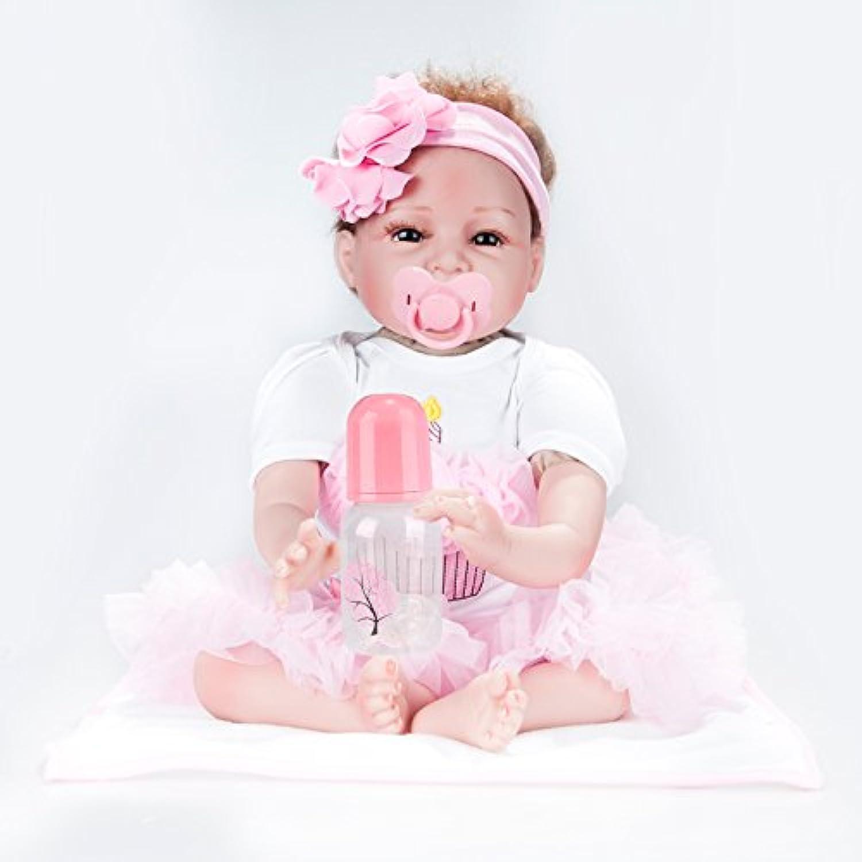 リボーンベビードール、シミュレーション、シリコン、ラグ人形、おもちゃ、アーリーラーニング、赤ちゃん、小道具、女の子、誕生日、贈り物