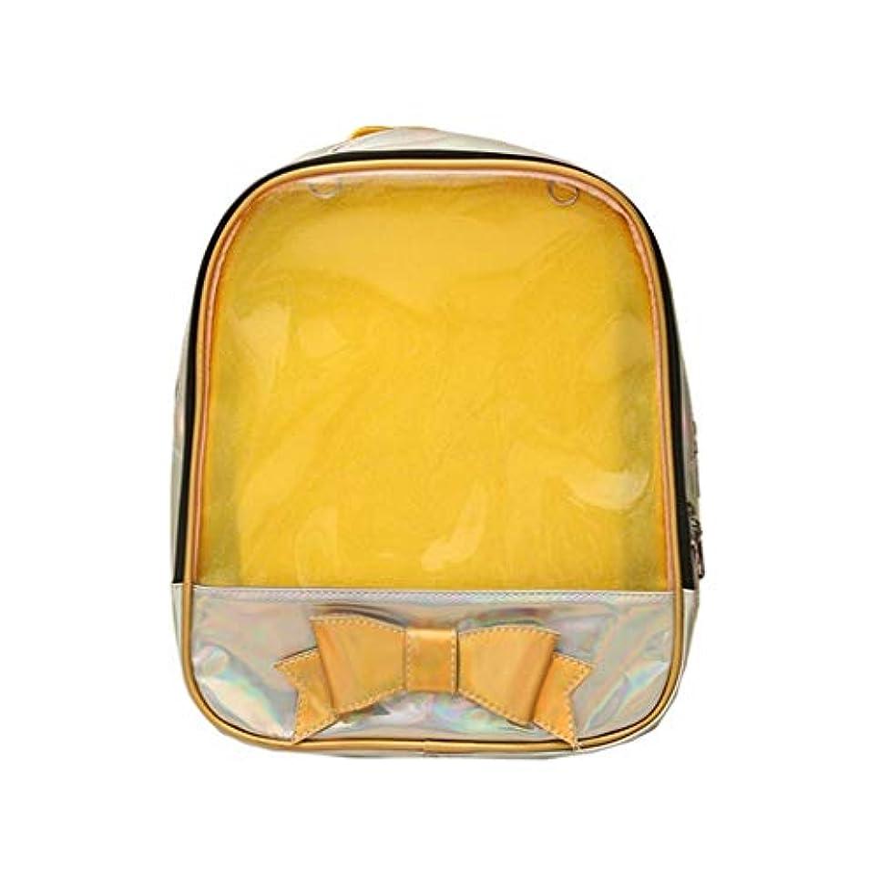 寄生虫スタック冷蔵庫可愛い透明リュック大人 可愛い 防水 大容量 A4 軽量 ナイロン マザーズリュック かわい通学 通勤 防撥水 おしゃれ マザーズリュック 出張 旅行 男女兼用 大容量
