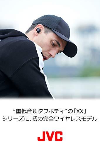 JVC HA-XC70BT-R 完全ワイヤレスイヤホン XXシリーズ/Bluetooth対応/重低音/最大12時間再生