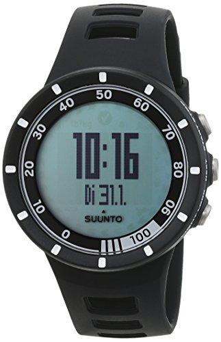 スント(SUUNTO) 腕時計 クエスト ランニングパック ブラック 3気圧防水 心拍/速度/距離計測 [日本正規品 メーカー保証2年] SS018156000