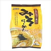 ムソー らーめん 自然伝麺 味噌 2食分  3袋