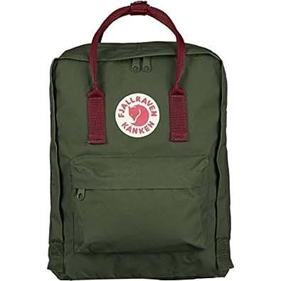フェールラーベン バッグ カンケン リュック 660-326-Forest Gren-Ox-Red 23510 ナップサック デイバック 2WAYバッグ カンケンバッグ FJALL RAVEN ag-715400 (10番:660-326-Forest Gren-Ox-Red)