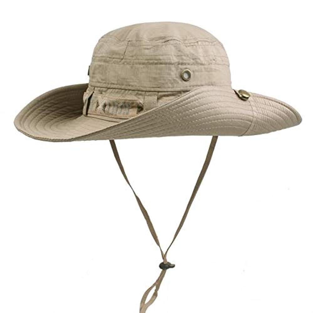 知り合い誰かコンソールZhiyuan 通気性 幅広つば 日焼け防止 トラベル釣り帽子