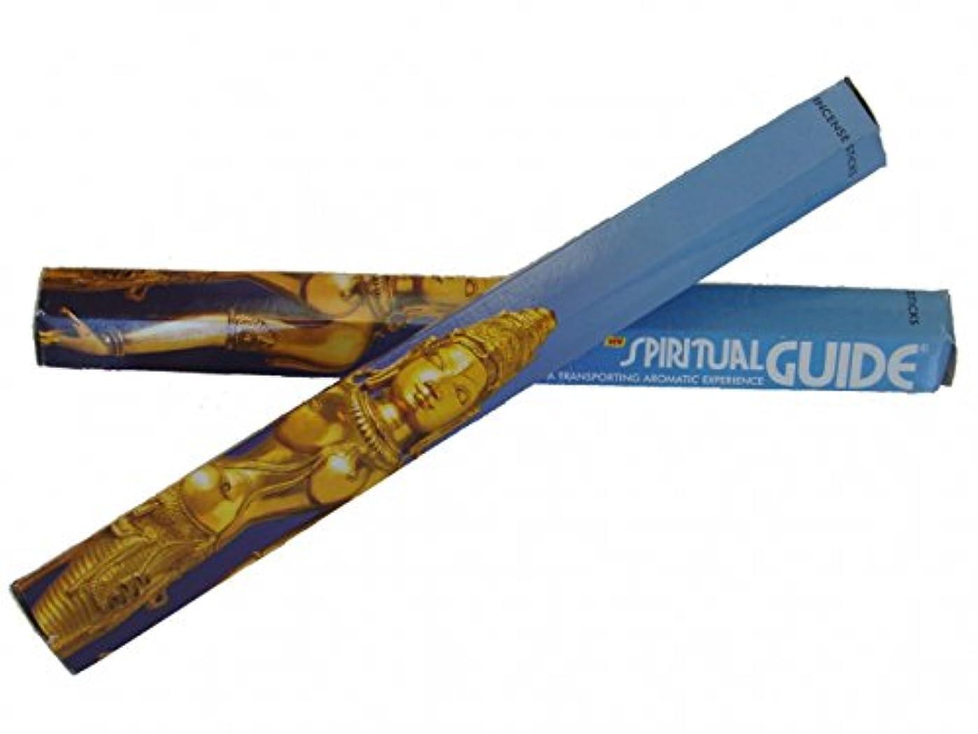 塩飲食店冷酷な2 Boxes of Spiritual Guide Incense Sticks
