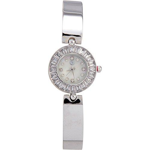 Adrienne Vittadini Ladies Watch ad10320s125 ? 004母のパールダイヤルステンレス