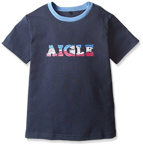 エーグル ウェーブロゴ半そでTシャツ