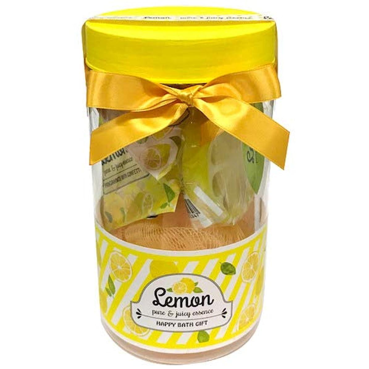 バッテリーポルトガル語ゴールドレモン ピュア&ジューシーエッセンス バスギフト