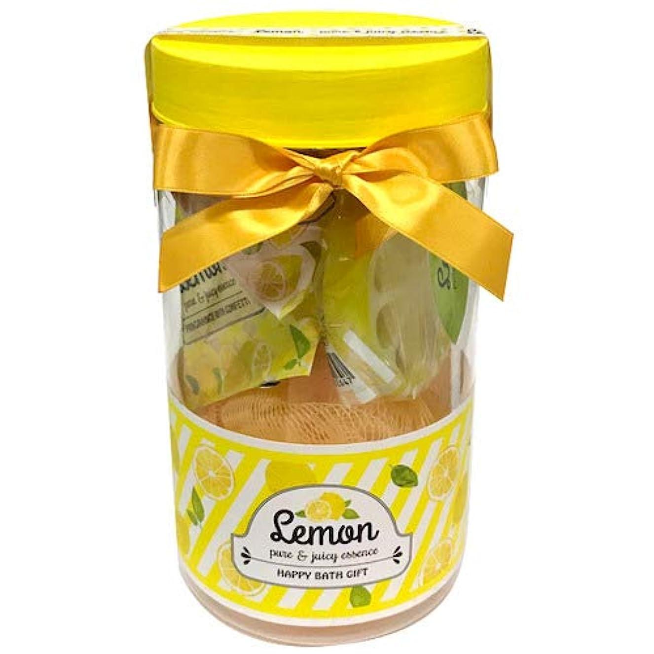 処方とティーム敏感なレモン ピュア&ジューシーエッセンス バスギフト