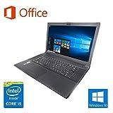【Microsoft Office 2016搭載】【Win 10搭載】TOSHIBA B554/第四世代Core i5-4200M 2.5GHz/メモリ
