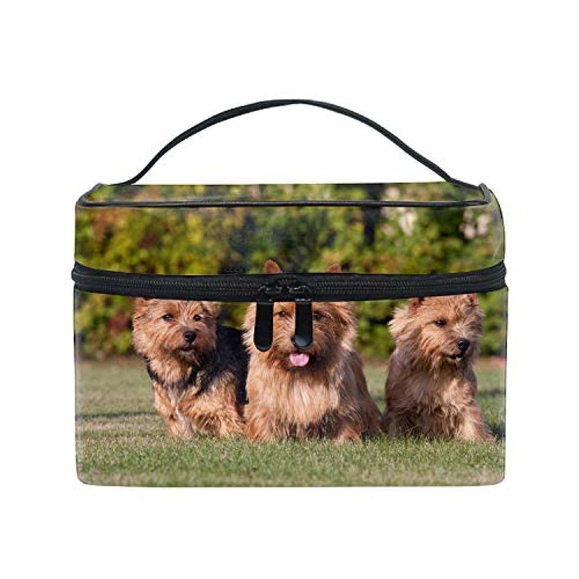 知る精査加速する可愛いユニークポーチ 小物入れケアンテリア犬 軽量 防水 旅行も便利 撥水する防水ポーチ