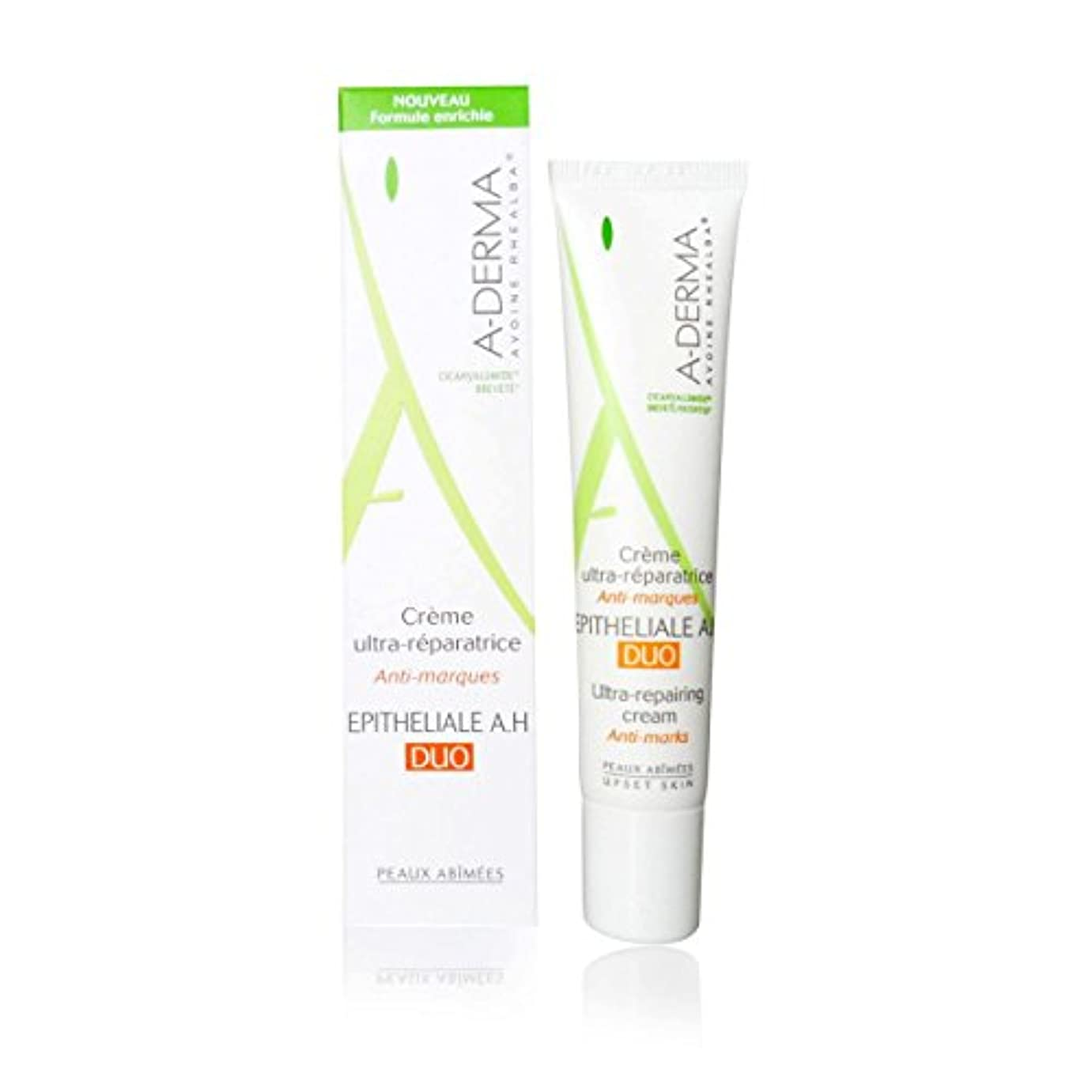 リスナーシャベル序文A-derma Epitheliale A.h. Duo Ultra-repairing Cream 40ml [並行輸入品]