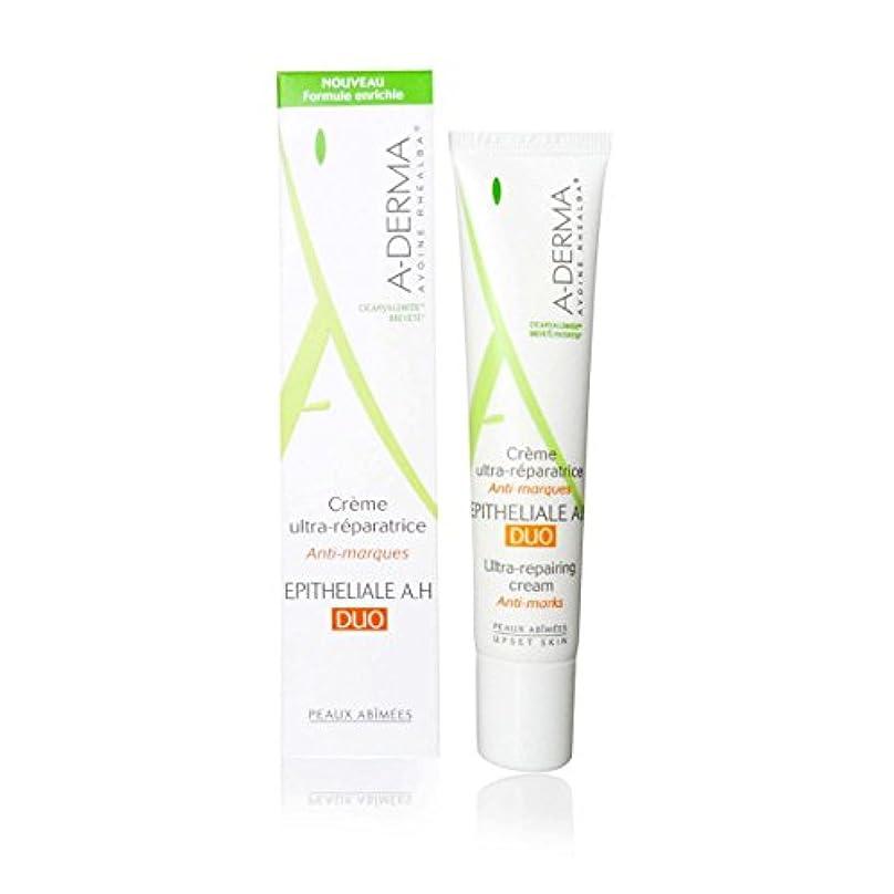 応答無駄もっと少なくA-derma Epitheliale A.h. Duo Ultra-repairing Cream 40ml [並行輸入品]
