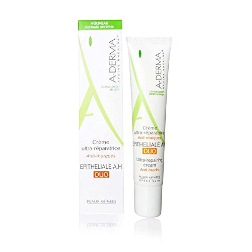 反対した苦悩先にA-derma Epitheliale A.h. Duo Ultra-repairing Cream 40ml [並行輸入品]