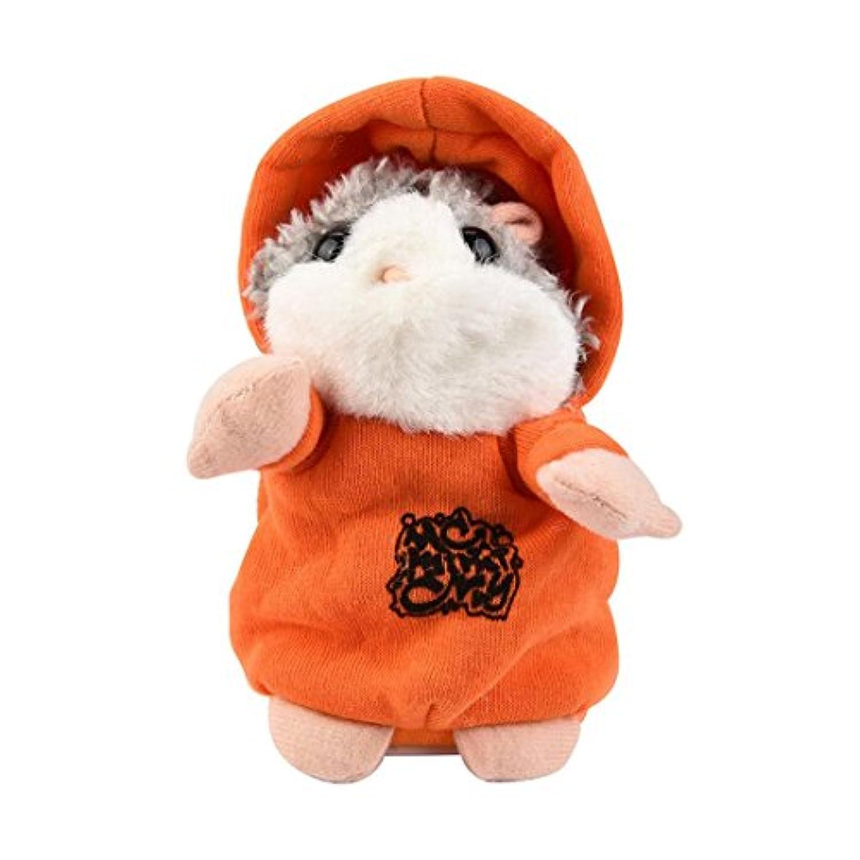 Hanyi Adorable Interesting TalkingハムスターをSay What繰り返し電子ペットTalking Plush Buddyマウスの子子供パーティーおもちゃ