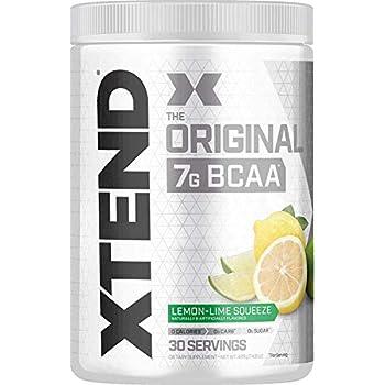 【海外直送品】Scivation Xtend BCAA 30杯分 (レモンライム) [並行輸入品]