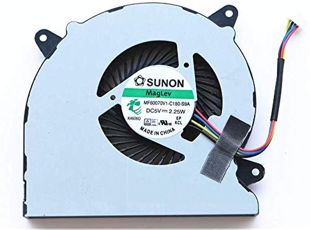 もっとグレー国歌ノートパソコンCPU冷却ファン適用するASUS N550 N550J N550L G550JK N750 N750JK N750JV PN MF60070V1-C180-S9A修理交換用