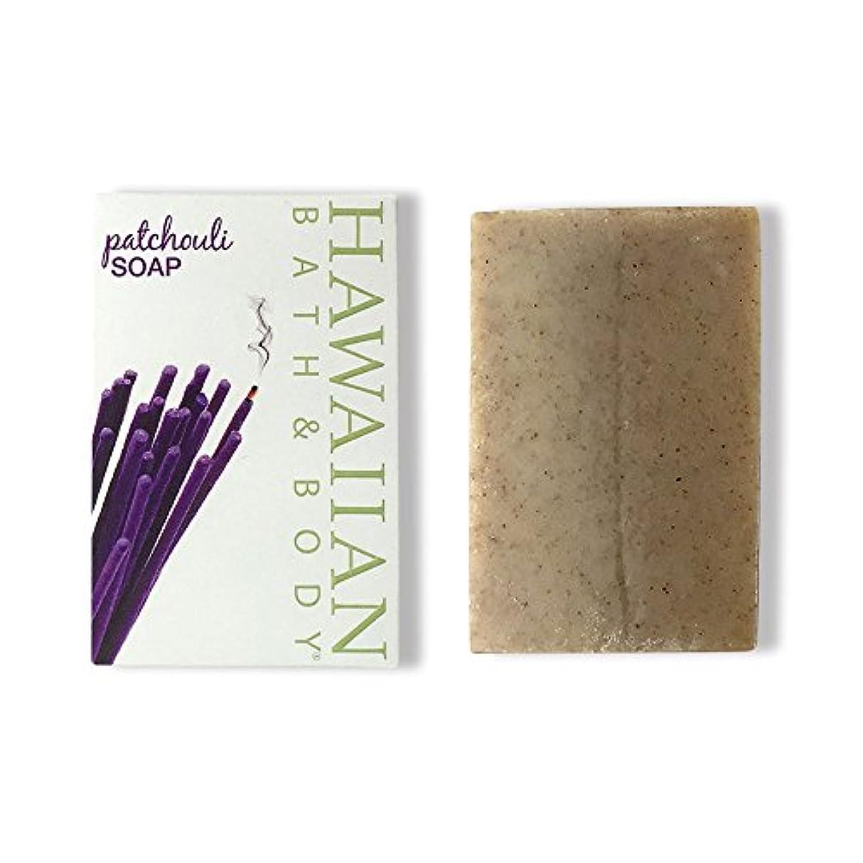 リンケージくぼみ簡略化するハワイアンバス&ボディ パチュリ?ナチュラルソープ ( Pachouli Soap )