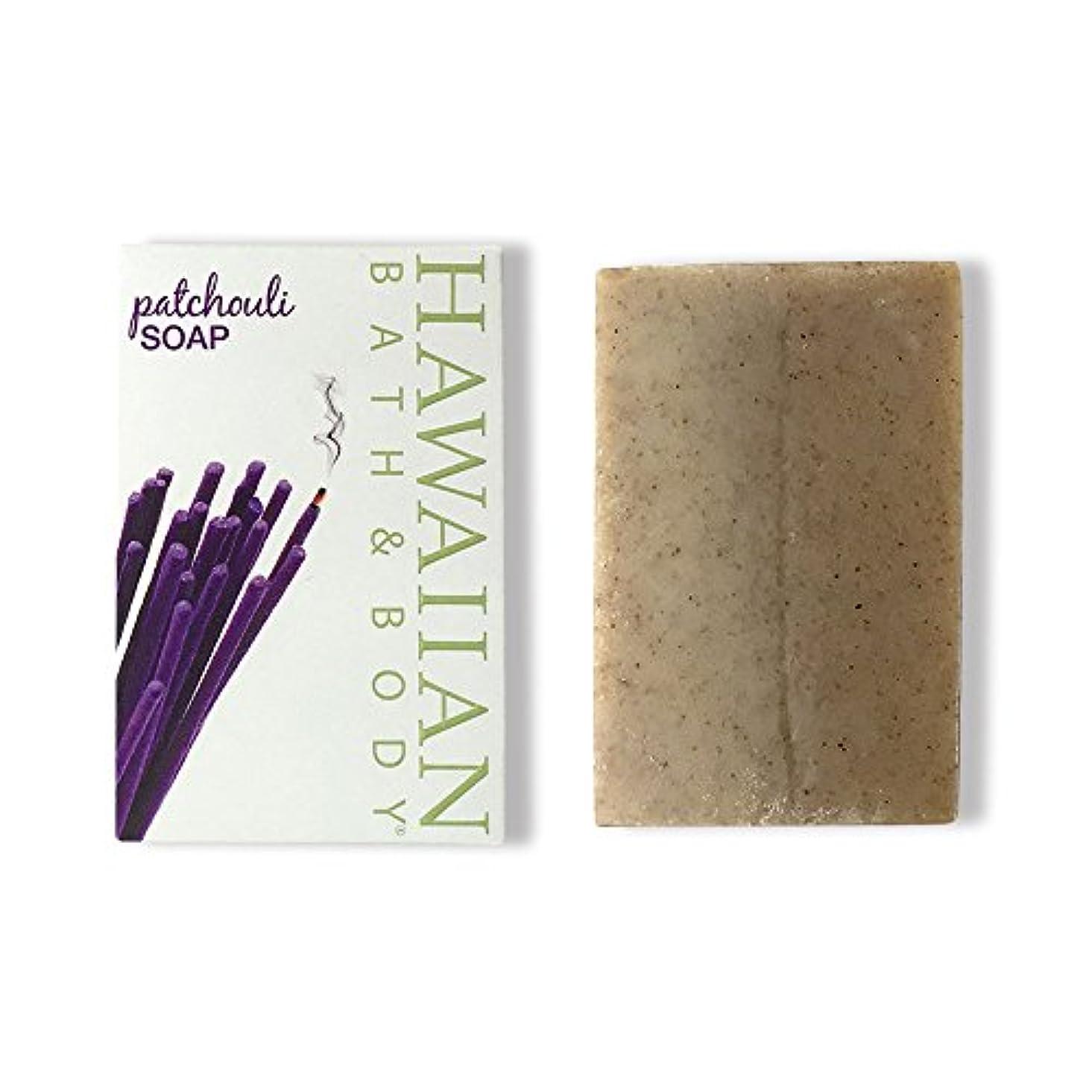 ステレオ真似る定期的ハワイアンバス&ボディ パチュリ?ナチュラルソープ ( Pachouli Soap )