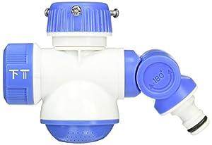 セフティー3 蛇口分岐コネクター 2方向 12~15mm内径ホース対応 シャワー3パターン切替   SSK-22