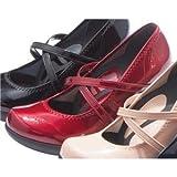 リゲッタ ウェッジパンプスシリーズ クロスベルト ボルドー 【4: S 9cmヒール】 ファッション 靴 シューズ パンプス その他のパンプス top1-ds-1727145-ah [簡素パッケージ品]