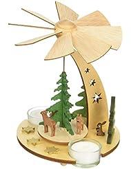 kuhnert クリスマスピラミッド 森の動物