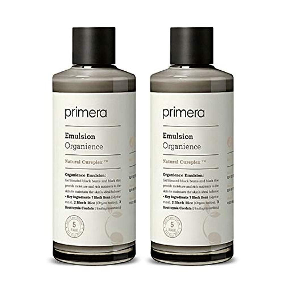 熟す外交問題置くためにパックプリメラオカニオンスエマルジョン150ml x 2本セット、Primera Organience Emulsion 150ml x 2ea Set [並行輸入品]