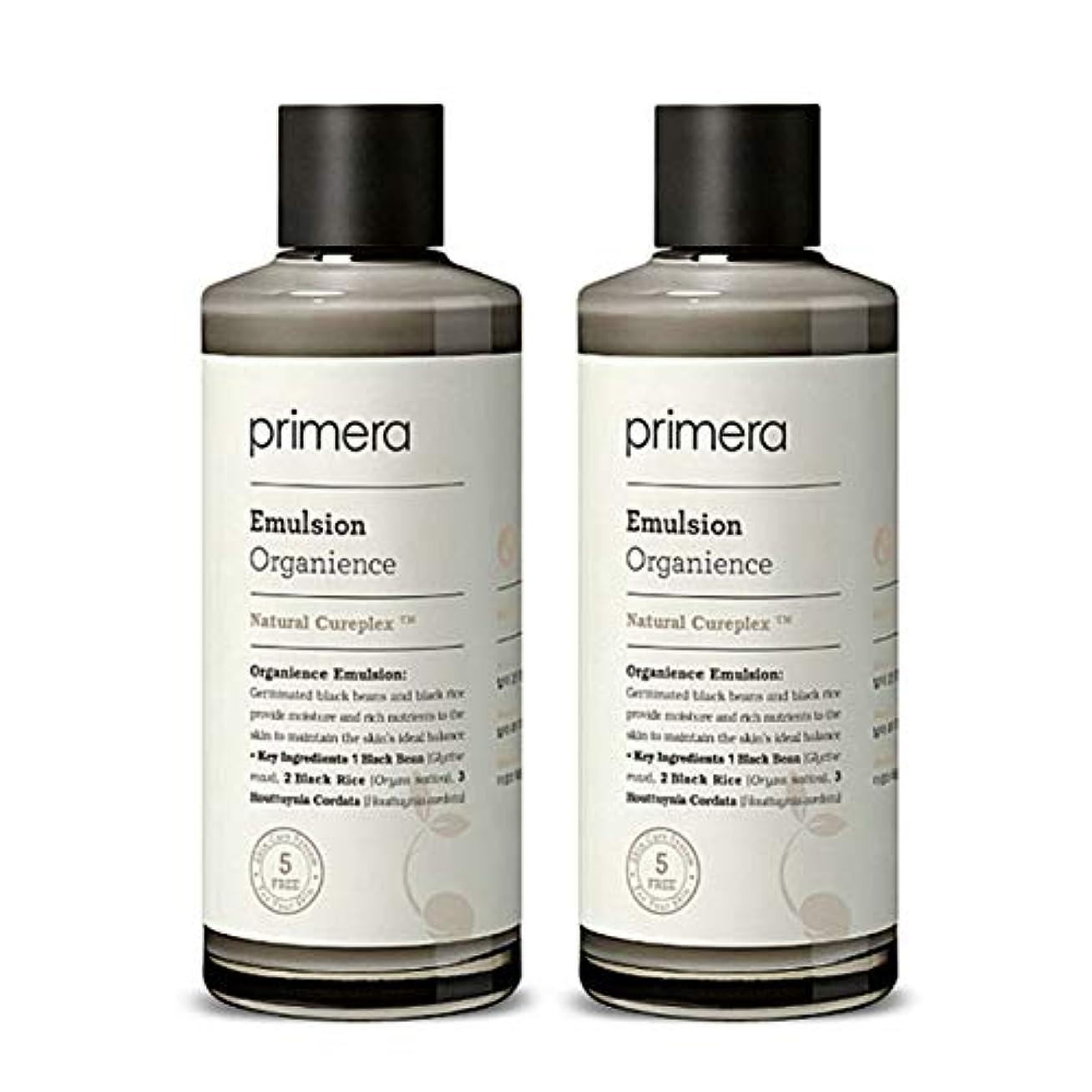 プリメラオカニオンスエマルジョン150ml x 2本セット、Primera Organience Emulsion 150ml x 2ea Set [並行輸入品]