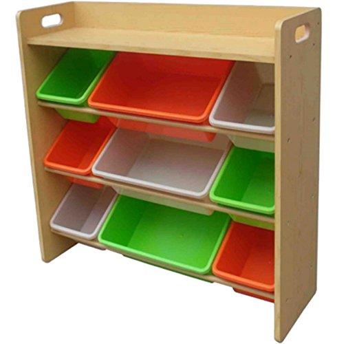おもちゃ箱 ラック 天板付 キャロット