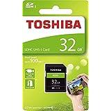 東芝 SDHCカード N203 32GB UHS-I クラス10 UHSスピードクラス1 読込100MB s THN-N203N0320A4 [並行輸入品]