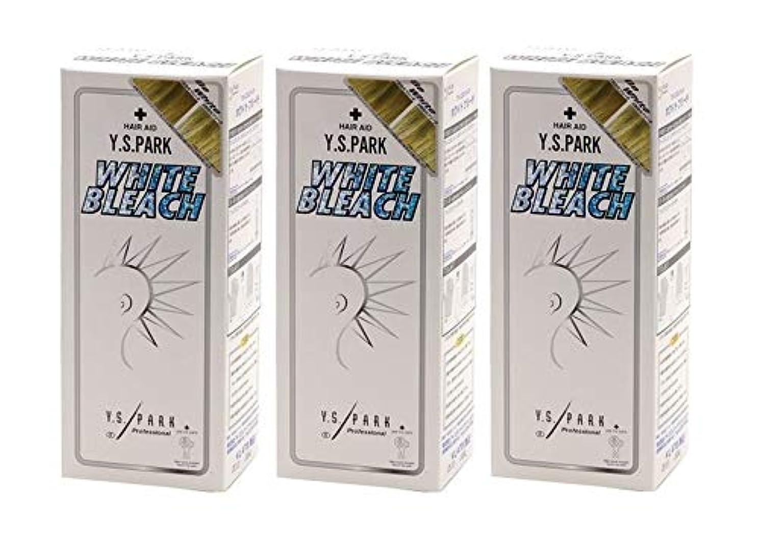 エレベーター酸っぱいコメントY.S.パーク ホワイトブリーチ 3個セット