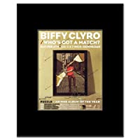 BIFFY CLYRO - Who's Got a Match Mini Poster - 14x10.8cm