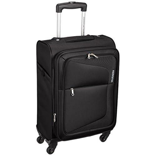 [アメリカンツーリスター] AmericanTourister スーツケース COSTA コスタ スピナー55 31L/43L 3.2kg 拡張機能 機内持込可 保証付 75W*09007 09 (ブラック)