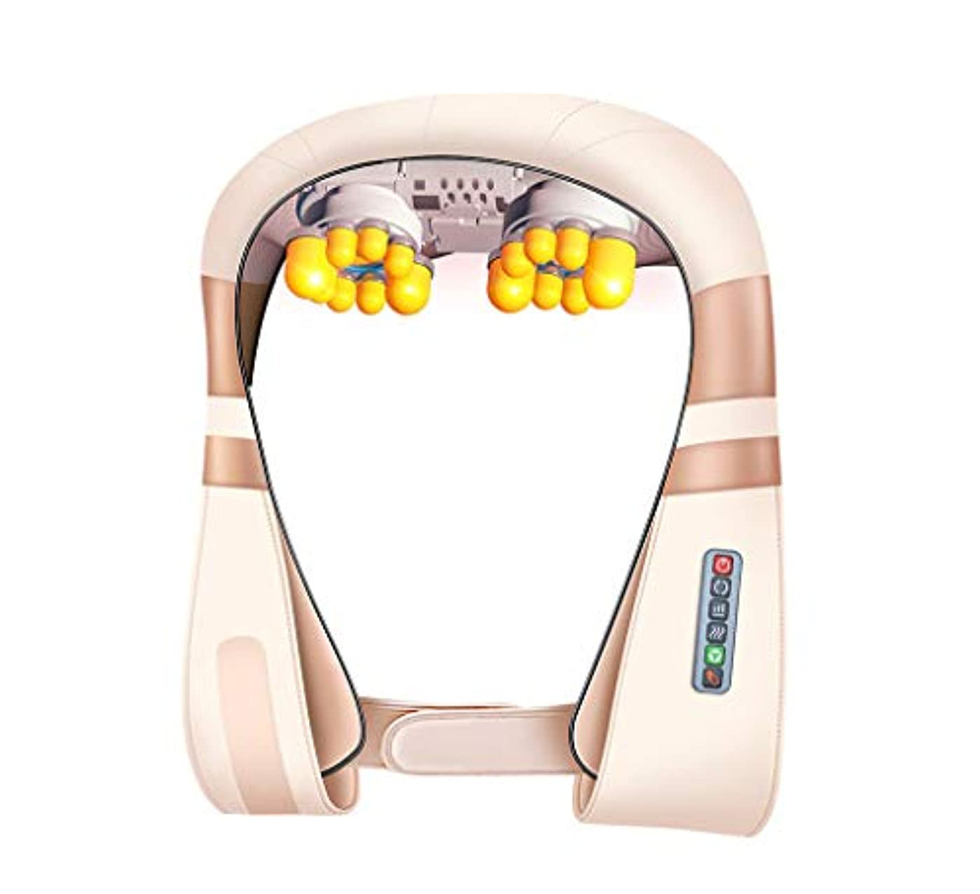 洞察力賭けオーチャード多機能8d ショルダーマッサージ, 車/ホームネック, 肩, ウエスト, 脚, 腕, 腹部電気マッサージ頸部温水ショール, 新しいアップグレード