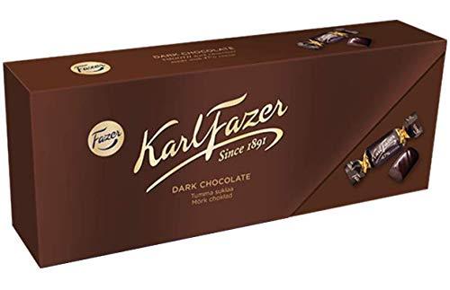 Karl Fazer カール・ファッツェル ダーク チョコレート 270g× 6箱セット フィンランドのチョコレートです [並行輸入品]