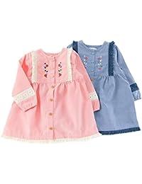 Youpi! (ユッピー ) ワンピース (80~130cm) キムラタンの子供服 (19415-181a) ブルー 95