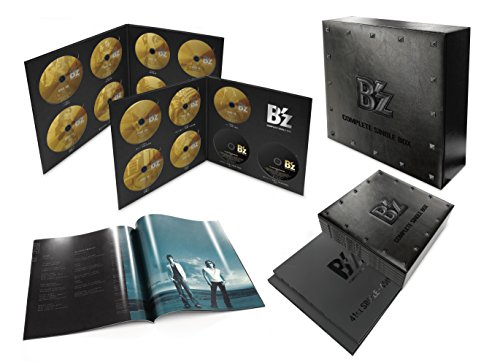 B'z COMPLETE SINGLE BOX【Black Edition】