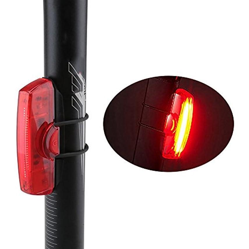 ドレス政権注ぎますスーパー明るいLEDの自転車テールライトUSB充電式6モード乗用機器防水安全の警告曇り