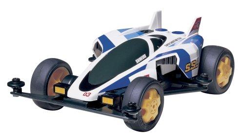 1/32 レーサーミニ四駆 No.45 スーパーシューティングスター ローハイトタイヤ付き 18045