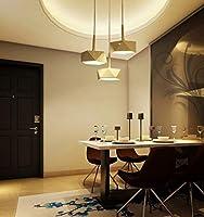Fudingyeshen 現代のシンプルなクリエイティブパーソナリティは3つのChdeliersレストランライトリビングルームのライトアイアンバーテーブルランプランプChdeliers (Color : C)