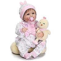 ベビードール ドールハウス用品 トレーニングドール シリカゲル お人形セット 人形 リボーン シミュレーション シリコーン かわいい子供のおもちゃ 40cm
