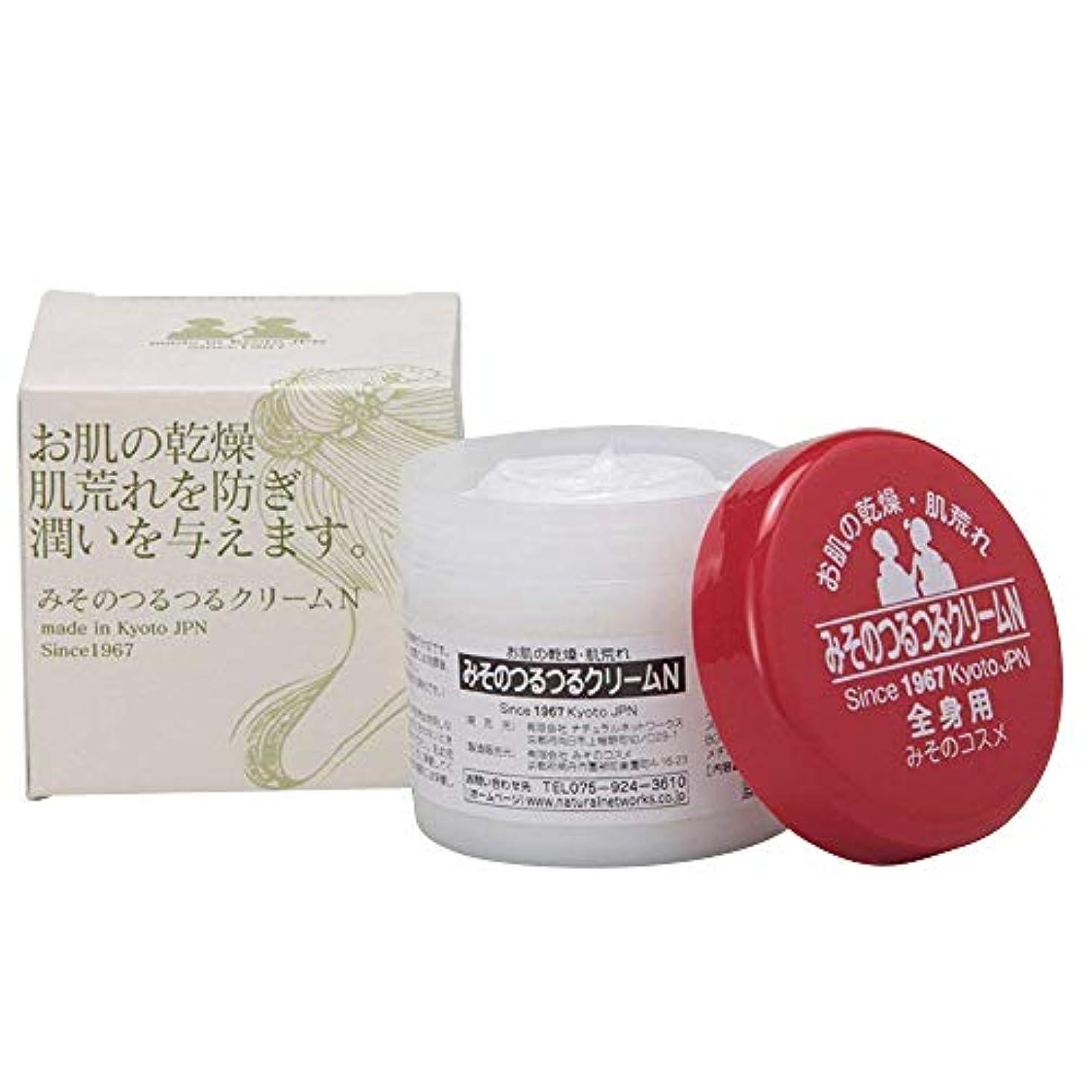 準備背の高い消毒するみそのつるつるクリームN 全身用 33g 無香料 舞妓さんシリーズ 日本製