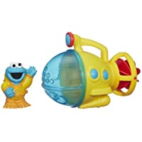 Sesame Street Cookie Monster Bath Submarine Toy 【You&Me】 [並行輸入品]