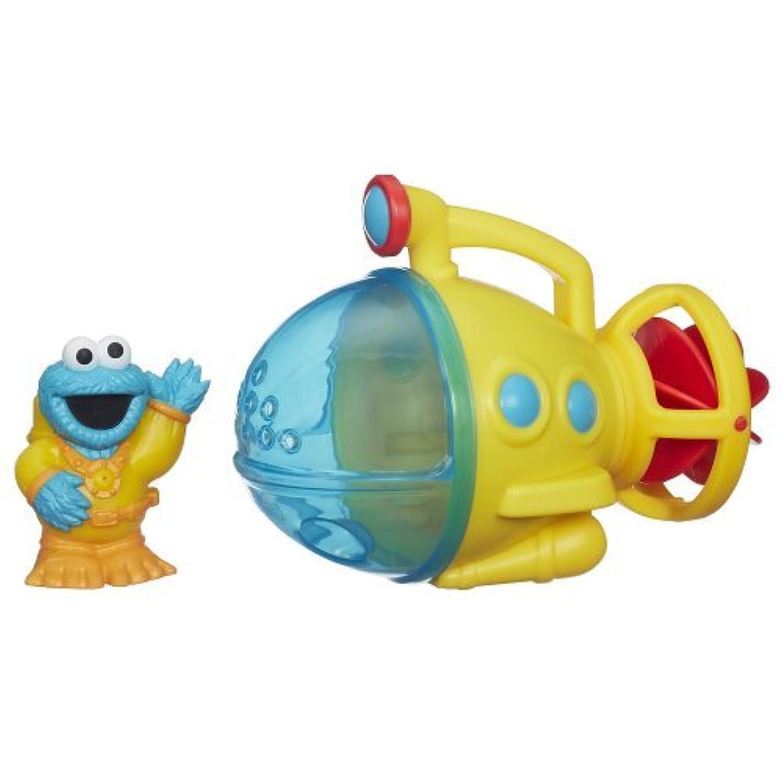 Sesame Street Cookie Monster Bath Submarine Toy [並行輸入品]