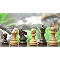 Chessbazaar The Staunton Series Wooden Economy Chess Pieces Rose & Box Wood