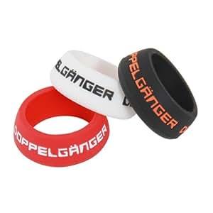 DOPPELGANGER シートポストリング Sサイズ 3色セット シートポスト径27.2~28.6mm対応 シリコン樹脂製 軽量5g  DSPR143S-ML
