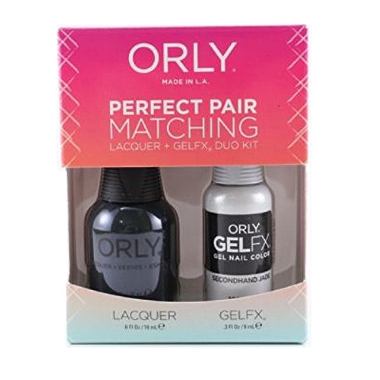 とげセーブフォアマンOrly Lacquer + Gel FX - Perfect Pair Matching DUO Kit - Secondhand Jade