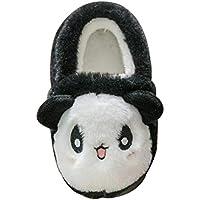 Inlefen Girls Slippers Winter Kids Slippers Boys Warm Indoor Shoes Soft Comfort Outdoor Slippers