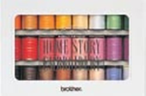 brother(ブラザー)『ミシン刺繍糸ウルトラポス23色セット』