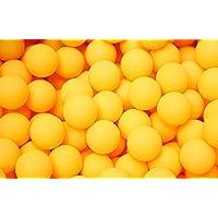 Gespout 卓球 ボール 練習用 公式球 50個 セット ピンポン球 40mm プラスチック 国際規格 試合 練習 トレーニング ワンスター 50個入り